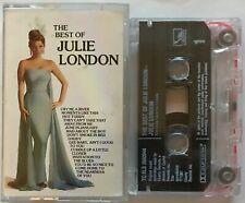 Julie London - The Best Of - Cassette Tape
