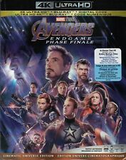 THE AVENGERS ENDGAME (4K ULTRA HD/BLURAY)(3 DISC SET)(USED)