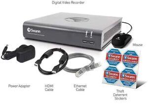 Swann DVR 4580 4 8 Channel 1080p HD Digital Video Recorder CCTV BNC HDMI VGA