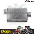 Hooker Aero Chamber Muffler 2.5 Offset Inletcenter Outlet - Hk21502
