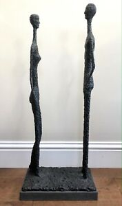 Us again by STEVE BOSS SOLID BRONZE SCULPTURE MADE UK FOUNDRY after giacometti