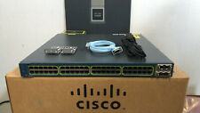 Cisco WS-C3560E-48PD-SF 48 Port Gigabit POE Layer3 Switch 10Gbps Uplink ios-15.0