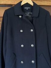 Brooks Brothers Loro Piana Wool Pea Overcoat 100% Wool Size 4 MSRP $800