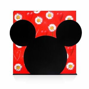 Finex Mickey Mouse Head Stainless Steel Napkin Holder Stand for kitchen Black