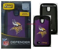 OtterBox Defender Case for Samsung Galaxy S4, NFL Minnesota Vikings, 77-50086