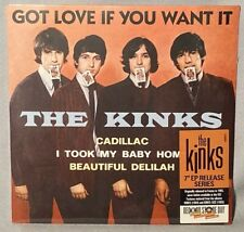 """45 7"""" THE KINKS Got Love If You Want It (EP Vinyl, RSD 2017) NEW MINT SEALED"""