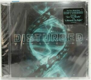 BRAND NEW Evolution by Disturbed (CD, 2018) ARE YOU READY REASON TO FIGHT SEALED