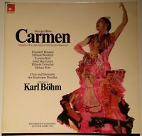 Bizet Carmen Höngen Weidlich Ralf Herrmann Trötschel  Karl Böhm BASF 10 21362-5
