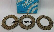 BENELLI 50 65 MOPED 3v MINIBIKE Magnum KIT 3 DISCHI FRIZIONE CLUTCH DISC ENGINE