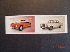 BRD 3147-3148** skl. aus Folienblatt 47 - Automobile BMW507-MB220S (Zdr.)