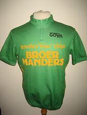 Teleflex Tour RIDER WORN Holland jersey shirt cycling wielrennen trikot size L