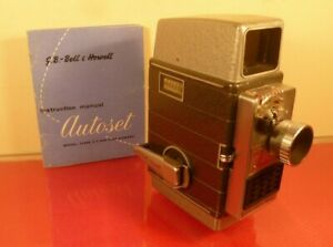 GB-BELL & HOWELL 624EE AUTOSET 8mm CINE MOVIE CAMERA: MADE IN ENGLAND: 1950s