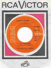 ZAGER & EVANS * 45 * In The Year 2525 * 1969 #1 * VG++ * USA ORIGINAL Vinyl RCA