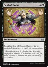 SEAL OF DOOM Modern Masters 2017 MTG Black Enchantment Unc