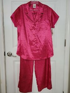 Liz Claiborne Pajama Set Size Large Pink NWT