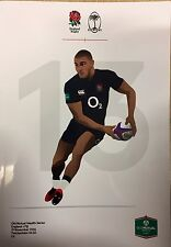 England V Fiji Programme 2016 Brand New Old Mutual Wealth Series