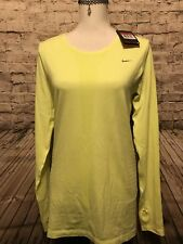 Nike Yellow active wear Blouse Size L