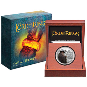 THE LORD OF THE RINGS™ – Gandalf the Grey 1oz Silver Coin