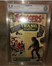 Avengers #8 - (Marvel 1964) CBCS 5.5 1st Appearance of Kang the Conqueror.