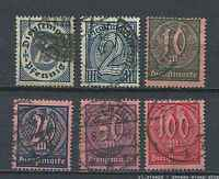 German Reich : Complete better officals set from 1922 - used