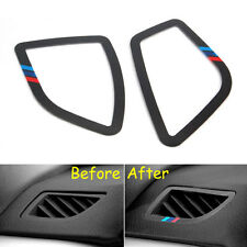 2x Interior Dashboard Air Vent Outlet Trim For BMW 3 series F30 320 328 2013-15