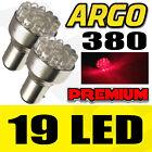 19 LED 380 ROJO TRASERO FRENO Luz de la cola del Bombillas 1157 BAY15D P21W 12v