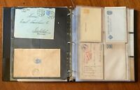 Russia USSR Postal History Collection! Covers, Stationery, & Postcards - High CV