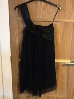 LITTLE BLACK DRESS SIZE 12  FROM NEXT PARTY COCKTAIL GOOD CONDITION