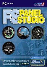 FS Panel Studio PC CD Add-on - Flight Simulator SIM X FSX Fs2002 Fs2004 CFS