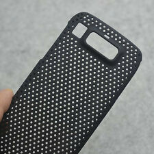 New Black Mesh Perforated Hard Case back cover for Nokia E72