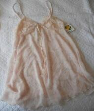 NWT DS DESIGN STUDIO MADE AUSTRALIA PINK POLYESTER NYLON NIGHTIE LACE TOP 12