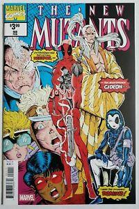 MARVEL X-Men New Mutants #98 Comic Book 1st Deadpool Appear Facsimile Variant NM