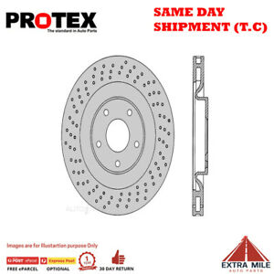 Protex Ultra Select Front Rotor Pair For CHEVROLET CORVETTE C6 7.0 2006 - 2012