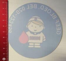 Aufkleber/Sticker: Donor - Geef Bloed - Von Innen Aufklebbar (09031687)