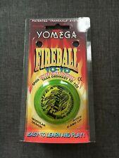 Vintage Yomega Yo-Yo Corp MADE IN USA Fireball High Performance Yo-Yo Yellow New