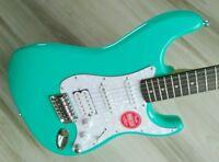 Fender Stratocaster Guitar TurboCharged w/ Blender MOD Seafoam Squier Strat WOW