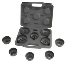Lisle Corporation 61450 10 Piece Oil Filter Cap Wrench Set