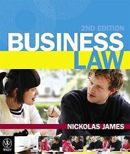 Business Law by Nickolas James (Paperback, 2011)