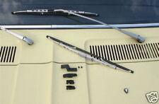 Mercedes Benz MB DB W107 SL SLC C R W 107 Wiper Blades silver NEW !!!
