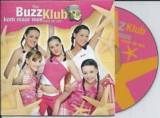 THE BUZZ KLUB - kom maar mee naar de zee CDS 2TR BUBBLEGUM Europop 2003