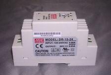 15W Single Output 24V Industrial DIN Rail Power Supply DR-15- 24V