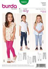 Sewing Pattern Burda Child Leggings 9415