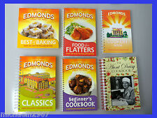 Edmonds Cookbooks & Aunt Daisy SET OF SIX
