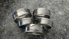 90% Silver 1964 JFK Kennedy Half Dollar Coin U Pick The Size 6.5-13 Handmade