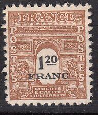 FRANCE TIMBRE NEUF N° 707 *  ARC DE TRIOMPHE