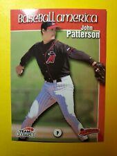 JOHN PATTERSON - RC ROOKIE #74 HIGH DESERT MAVERICKS 1999 TEAM BEST MLB BASEBALL