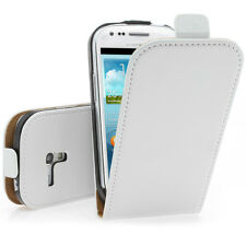 Funda para Móvil Funda Protectora con Tapa en Blanco Para Samsung Galaxy S3 Mini