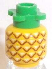 LEGO PINEAPPLE ~ Minifigure Fruit Food Accessory for City Friends Sets ** NEW **