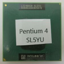 Intel Mobile Pentium 4-M 1.6 Ghz Laptop Processor Cpu (Sl5Yu)