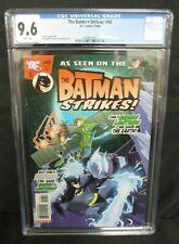 The Batman Strikes #48 (2008) Low Print Green Lantern App. DC CGC 9.6 A017
